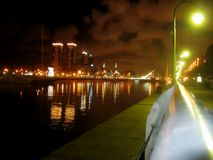 Buenos Aires at Night Royalty Free Stock Image
