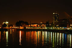 Buenos Aires by Night Stock Images