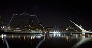 Buenos Aires by night Royalty Free Stock Photos