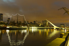 Buenos Aires by night royalty free stock photo