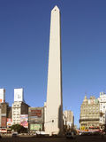 Buenos Aires obelisk square. Argentina, April 2013 Royalty Free Stock Photos