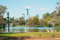 Buenos Aires parki Obrazy Royalty Free