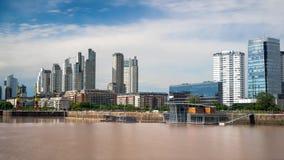 Buenos Aires pejzaż miejski Obrazy Stock
