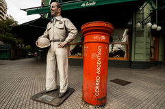 Buenos Aires post, Agentina city metropole Stock Image