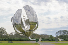 Buenos Aires Recoleta - Floralis Generica Sculpture Stock Photo