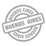 Buenos Aires rubber stamp Royalty Free Stock Image