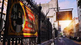 Buenos Aires, San Telmo district Royalty Free Stock Images