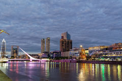 Buenos Aires skyline Stock Image