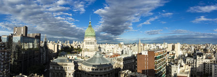 Buenos Aires. Skyline panorama before sunset Stock Photo
