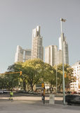 Buenos Aires Skylines Royalty Free Stock Image