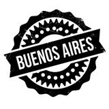 Buenos Aires stamp Royalty Free Stock Photography