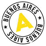 Buenos Aires stamp Royalty Free Stock Photos