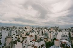 Buenos Aires Storm. Summer storm in Buenos Aires, Argentina Royalty Free Stock Photography