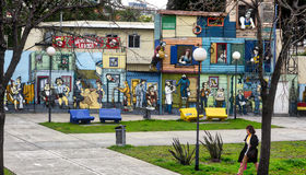 Buenos Aires street art Stock Image
