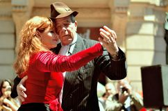 Buenos Aires, tango style Stock Images