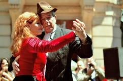 Buenos Aires tangostil arkivbilder