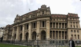 Buenos Aires Justice Palace. A great Structure in Buenos Aires royalty free stock image