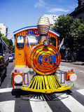 Buenos Aires : Tourist Train. Through the city on a sunny day Royalty Free Stock Photos
