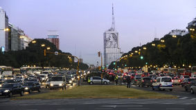 Buenos Aires Traffic Stock Image
