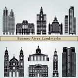 Buenos Aires V2 Landmarks Stock Images