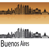 Buenos Aires V2 skyline Royalty Free Stock Images
