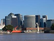 Buenos aires van de binnenstad Royalty-vrije Stock Afbeeldingen