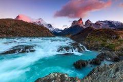 Buenos DÃaz, Patagonië Royalty-vrije Stock Fotografie
