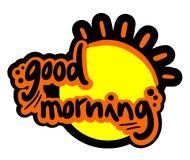 Buenos días Imagen de archivo libre de regalías