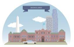 buenos de l'Argentine d'aires illustration libre de droits