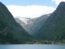 Buer glaciär Arkivbilder