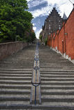 Bueren staircase street - hdr Royalty Free Stock Photos