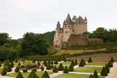 buerresheim burresheim城堡德国schloss 免版税库存照片