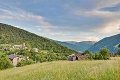 Buesa dolina blisko Ordesa y Monte Perdido parka narodowego Fotografia Royalty Free