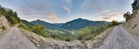 Buesa valley at Ordesa y Monte Perdido Park Stock Images