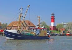 Buesum, Mar del Norte del alemán, Alemania Imagenes de archivo