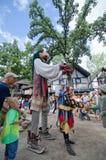Bufón de la marioneta Fotografía de archivo