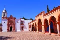 Bufa II. Virgen del Patrocinio church, zacatecas city, mexico Stock Photos