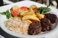 bufala食物意大利地中海无盐干酪 免版税库存图片