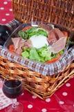Bufala mozzarella salad Stock Photos