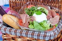 Bufala mozzarella salad Stock Photo