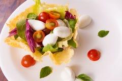 Bufallo Mozzarela Appetizer Stock Photography