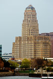 bufalo ny的市政厅 免版税库存图片