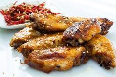 Bufalo stylu kurczaka skrzydła Obrazy Royalty Free
