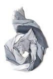 Bufanda de la cachemira aislada Imagen de archivo libre de regalías