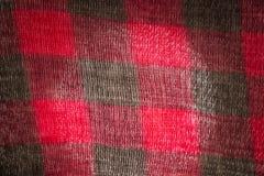 Bufanda de la textura Imágenes de archivo libres de regalías