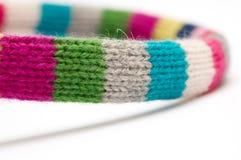 Bufanda de lana Foto de archivo libre de regalías