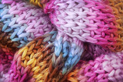 Bufanda de las lanas Imagen de archivo libre de regalías