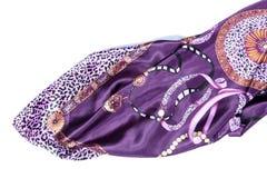 Bufanda de seda de lujo imagen de archivo