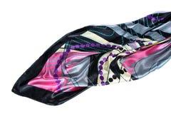 Bufanda de seda de lujo imagen de archivo libre de regalías