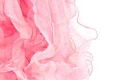 Bufanda de seda rosada Imágenes de archivo libres de regalías
